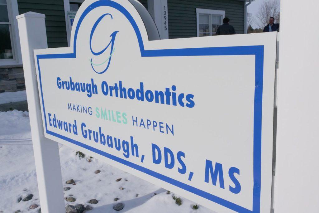 grubaugh orthodontics sign